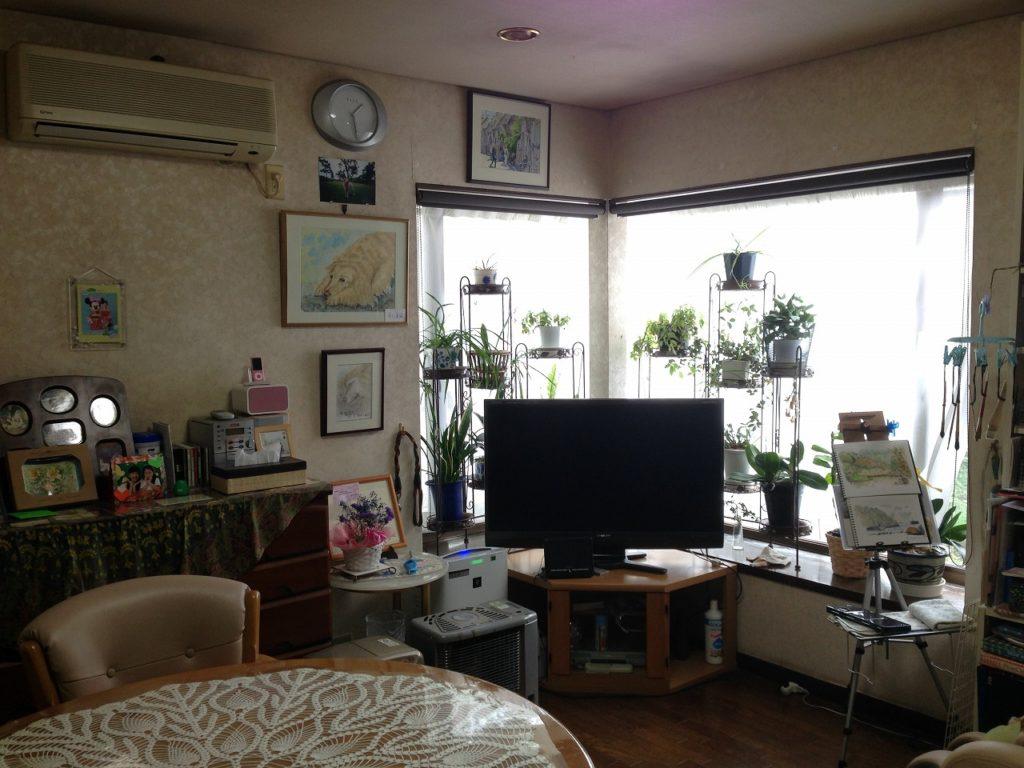 戸建/リノベーション/神奈川県海老名市/無垢材やステンレスキッチン、素材とパターンを楽しむ暮らし