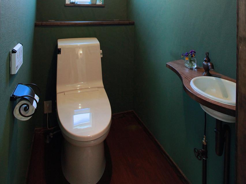 トイレ・オリジナル手洗い